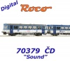 70379 Roco Diesel railcar class 810 and caboose type BDtax of the CD - Sound