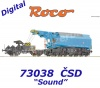 73038 Roco Slewing railway crane EDK 750 of the CSD - Sound