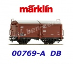 00769-A Marklin Sliding roof / sliding wall Car Type Tes-t-58 Kmmgks of the DB