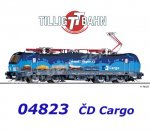 04823 Tillig TT Electric Locomotive Class 383 Vectron of the CD Cargo