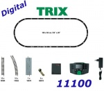 11100 TRIX MiniTRIX N Digital Start Set Track and Mobile Station, N
