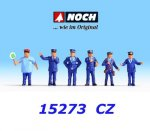 15273 Noch Czech Railway Officials, H0