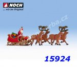 15924 Santa Claus with carriage, H0