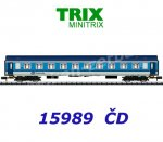 15989 TRIX MiniTRIX N Express Train Passenger Car 2nd Class Type Y of the CD