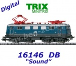 16146 TRIX MiniTRIX N Electric Locomotive Class E 41 of the DB, Sound