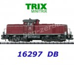 16297 TRIX MiniTRIX N Diesel Locomotive Class 290  of the DB, Sound