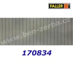 170834 Faller Decorative Sheet, Wall Sill, 2 pcs, H0