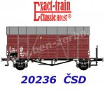 20236 Exact-train Box Car Type Oppeln of the CSD Ep.IV, with brakemans platform