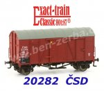 20282 Exact-train Box Car Type Oppeln of the CSD Ep.III