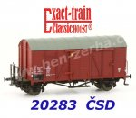 20283 Exact-train Box Car Type Oppeln of the CSD Ep.IV, with brakemans platform