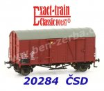 20284 Exact-train Box Car Type Oppeln of the CSD Ep.IV
