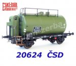 20624 Exact-train Tank Car type Rt of the CSD