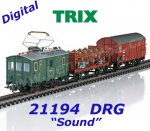 21194 TRIX Set of Train with Electric Powered Rail Car Class ET 194