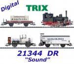 "21344 Trix Freight train ""800 Years of Rostock"", Class 89.80,  DRG, Sound"