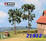 21912 Noch Borovice, 2 kusy, 11,5 a 13,5 cm, H0, TT