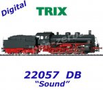 22057 Trix Steam Locomotive G 5/5 of the DB, Sound