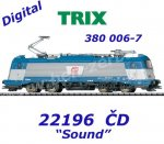 22196 Trix Electric Locomotive Class 380 of the ČD, Sound