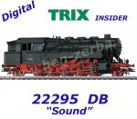 22295 TRIX Steam Locomotive Class BR 95.0 of the DB, Sound