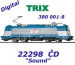 22298 Trix Electric Locomotive Class 380 of the ČD, Sound