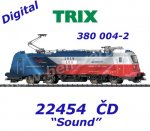 22454 Trix Electric Locomotive Class 380 of the ČD, Sound