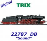 22787 Trix Steam Locomotive Class 50 of the DB - Sound