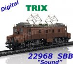 "22968 Trix Electric Locomotive Class Fc 2x3/4,  ""Köfferli""  of the SBB, Sound"