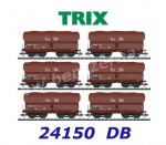 "24150 TRIX  Set of 6 hopper cars type Fad 155 ""Erz IIId"", DB"