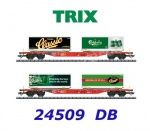 24509 TRIX Set of 2 containers cars Carlsberg and Tuborg., DB