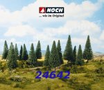 24642 Noch Fir Tres - 6 psc, 14 - 18 cm high, 0, H0, TT
