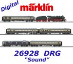 "26928 Märklin Set  Luxury Express Train  ""1928 Rheingold"", DRG, Sound Mfx"