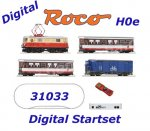 31033 Roco H0e Digital Startset z21 - Passenger Train with Elecric Locomotive , OBB