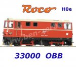 33300 Roco H0e Diesel  Locomotive  2095 008 of the ÖBB