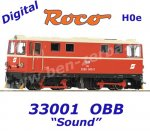 33301 Roco H0e Diesel  Locomotive  2095 008 of the ÖBB, Sound