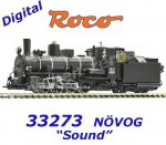 33273 Roco H0e Steam locomotive Class Mh.4, NÖVOG, Sound