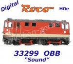 33299 Roco H0e Diesel  Locomotive  2095 006 of the ÖBB, Sound