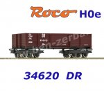 34620 Roco H0e Open Car of the DR