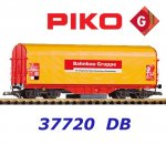 37720 Piko G Cleaning wagon of the DB