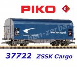 37722 Piko G Sliding canopy car type Shimmns of the ZSSK Cargo