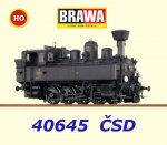 40645 Brawa Steam locomotive Class 422.021 of the CSD