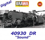 40930 Brawa Steam Locomotive Class BR 01 of the DR - Sound