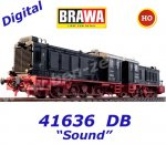 "41636 Brawa Set of 2 Diesel Locomotives Class V36 ""Doppeltes Lottchen"" of the DB,  Sound"