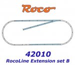 42010 Roco Extedning set ROCO LINE track set B (tracks with bedding)