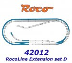 42012 Roco Extedning set ROCO LINE track set D (tracks with bedding)