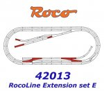 42013 Roco Extedning set ROCO LINE track set E (tracks with bedding)