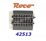 42513 Roco RocoLine 2,1 mm with Bedding Straight Track G1/4, 57,5mm