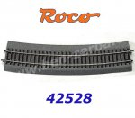 42528 Roco RocoLine 2,1 mm with Bedding Curved R10 = 888mm, 30°