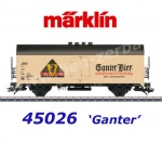 "45026 Marklin Refrigerated beer car  ""Ganter Bier"""