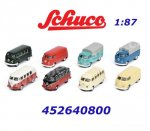 452640800 Schuco Set 8 x VW Transporter T1, H0