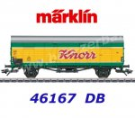"46167 Marklin  Boxcar type Glt 23 ""Dresden"" in design ""Knoor"" of the DB"