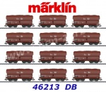 "46213 Marklin Set of 12 hopper cars type Fad 155 ""Erz IIId"", DB"